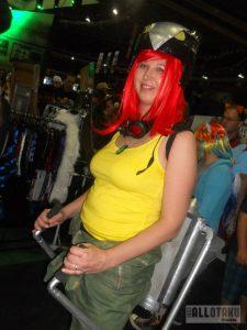 Bombshell hawkgirl cosplay at rAge Expo