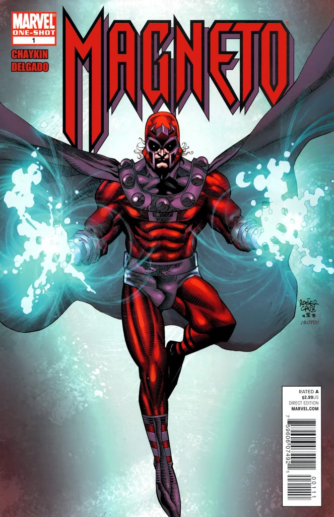 Cover of Magneto comic book from Marvel