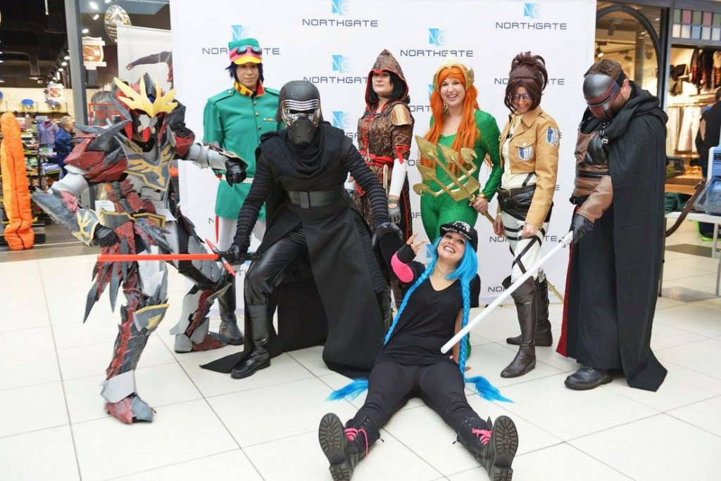 Photo from Mall of Monster Hunter Cosplay, Howl Cosplay, Kylo Ren Cosplay, Assassin's Creed Cosplay, Mera Cosplay, Hanji Cosplay, Darth Revan Cosplay and Jinx Cosplay