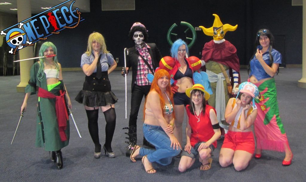 One Piece Cosplay Group posing